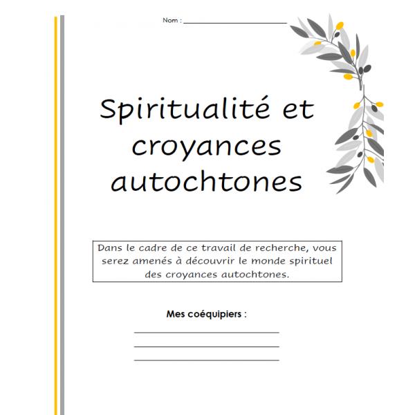 Religion spiritualité autochtone