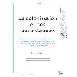 Colonisation conséquences autochtones