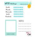 Water challenge, mood chart