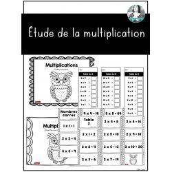 Étude de la multiplication