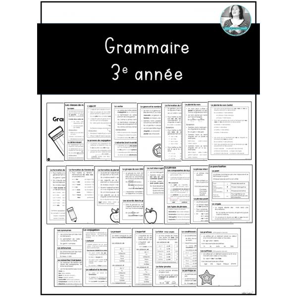 Grammaire 3e année
