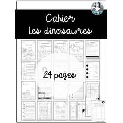 Cahier Les dinosaures