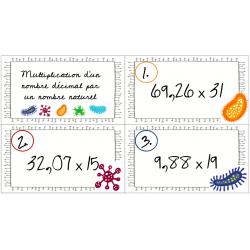 Multiplication d'un nombre décimal par un naturel