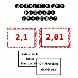 Bataille des nombres décimaux