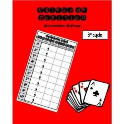 Valeur de position des nombres décimaux