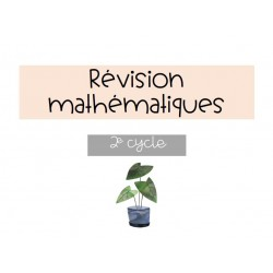 Révision de maths interactive 2e cycle