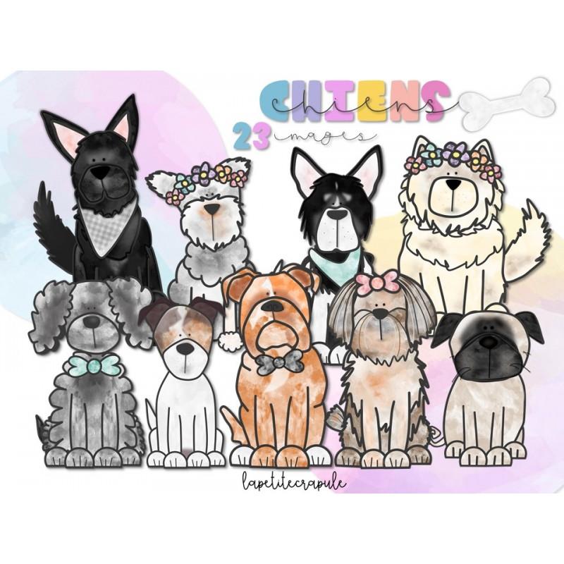 Clipart Chiens
