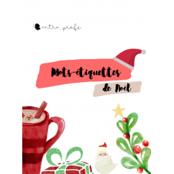 Les mots de Noel