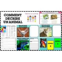 Comment décrire un animal