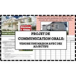 Vendre une maison - Comm. Orale (les adjectifs)