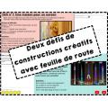 Construction et défis avec K'Nex