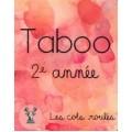 Taboo - 2e année