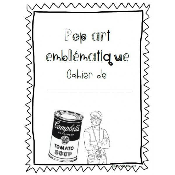 Pop art emblématique