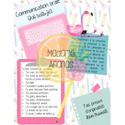 Communication orale: Qui suis-je?