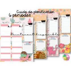 Guide de planification 2020-2021 6 périodes