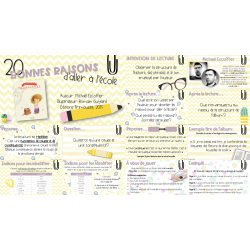 20 bonnes raisons d'aller à l'école