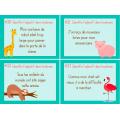 Cartes à tâches adjectifs - 1er cycle primaire