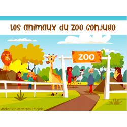 Les animaux du zoo Conjugo