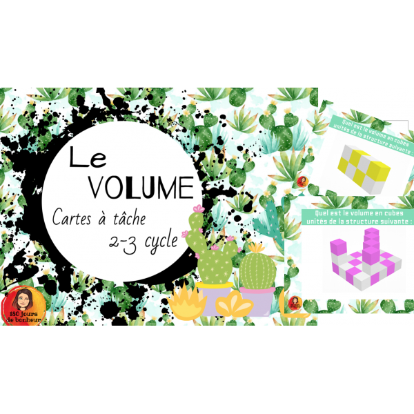 CAT le volume //2-3cycle