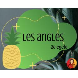 GRATUITÉ : Cartes à tâche: Les angles // 2e cycle