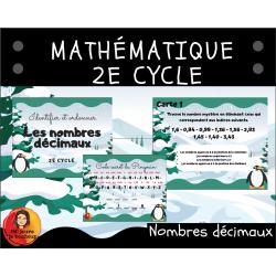Nombres décimaux mystères // 2e cycle