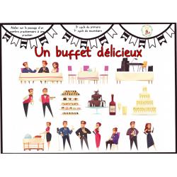 Un buffet délicieux-Nombre fractionnaire