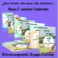 Des lettres, des mots, des histoires - Niveau 2