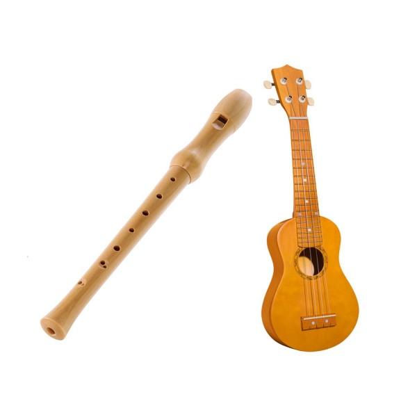 Création musicale - Duo flûte et ukulélé