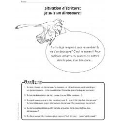 Situation d'écriture dinosaures