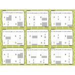 Cartes à tâches :  Comparer des fractions