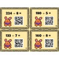Division (40 cartes) avec code QR