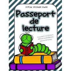 Passeport de lecture : Défi de lire