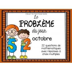 La résolution de problème (math) - Octobre