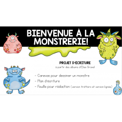 Monstrerie situation d'écriture