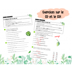 Exercices CD et CDI