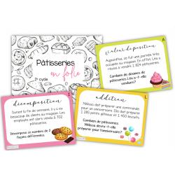 Mises en situation-Pâtisseries en folie 2E CYCLE