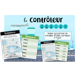 Contrôleur aérien - Plan cartésien 2e CYCLE