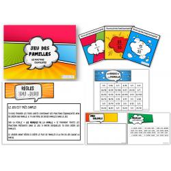 Jeu des familles - Les fractions équivalentes