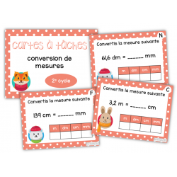 CàT - Conversion de mesures (3e année)