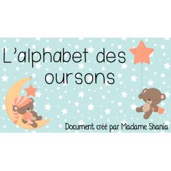 L'alphabet des oursons