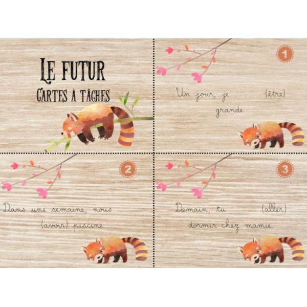 Cartes à tâches - Le futur