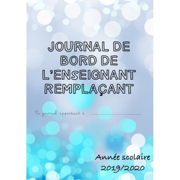 Journal de bord du remplaçant