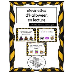 Devinettes d'Halloween en lecture
