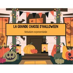 La grande chasse d'halloween