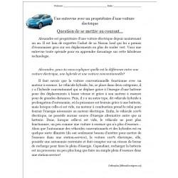 Entrevue avec un proprio d'une voiture électrique
