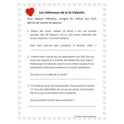 Les inférences de la St-Valentin