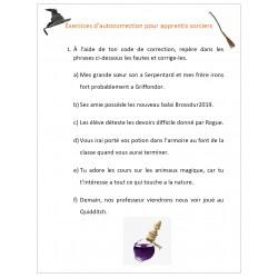Exercices d'autocorrection pour apprentis sorciers