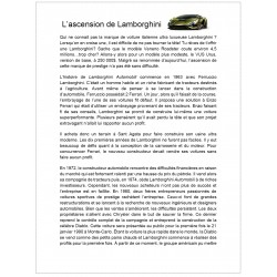 L'ascension de Lamborghini