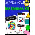 Pochette Présco - LES FORMES 2D