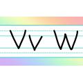 Alphabet arc-en-ciel